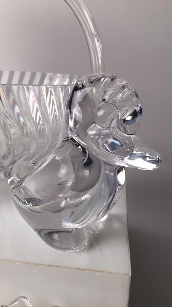Group Lot 12 TIFFANY, LALIQUE & Misc Crystal - 10