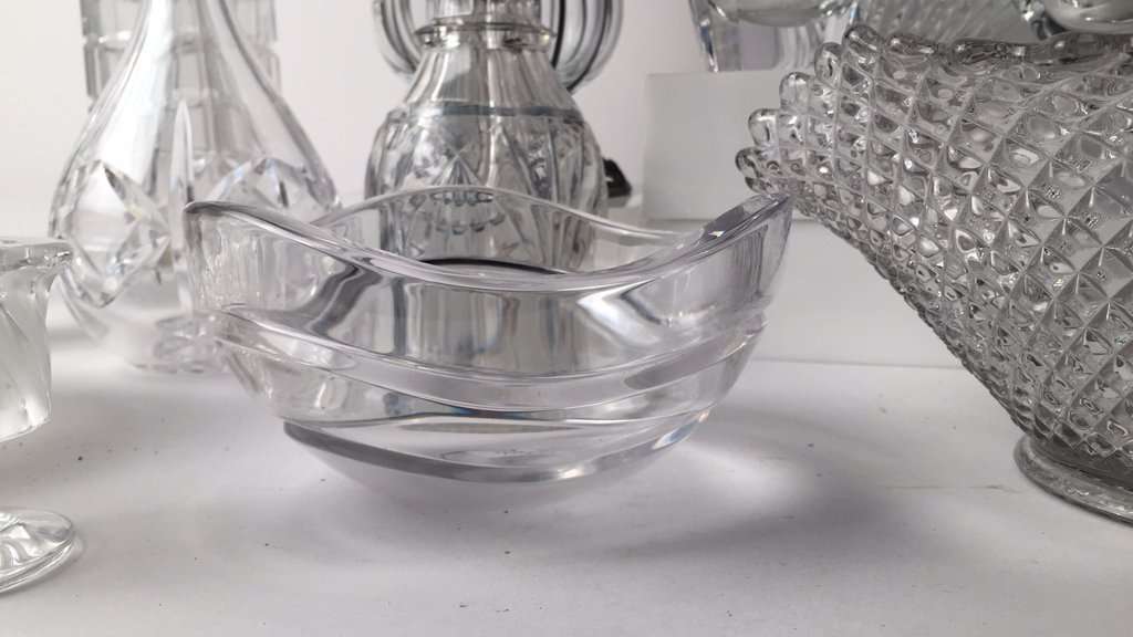 Group Lot 12 TIFFANY, LALIQUE & Misc Crystal - 3