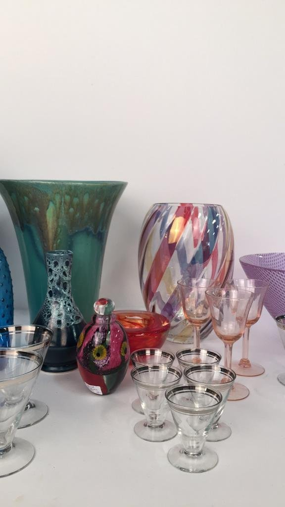 Group Lot Mixed Vases and Glassware - 4