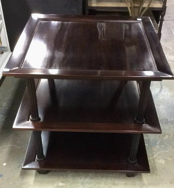 Three Tiered Baker End Table - 5