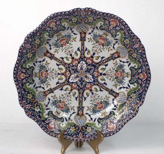 Hand Painted MAJOLICA Bowl - 2