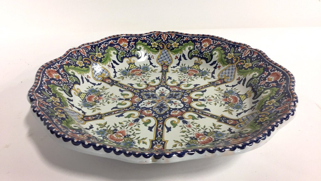 Hand Painted MAJOLICA Bowl - 3
