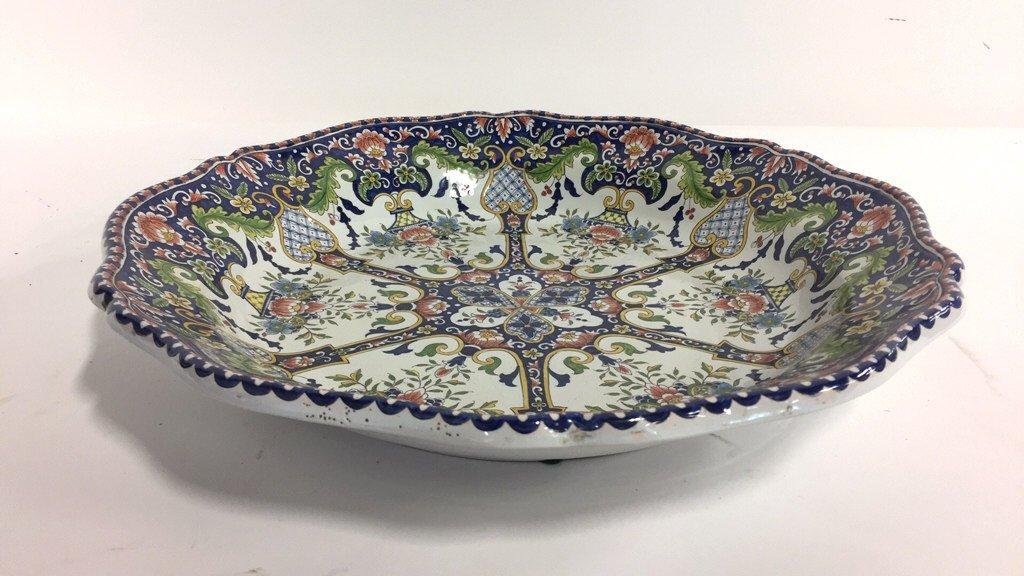 Hand Painted MAJOLICA Bowl - 4