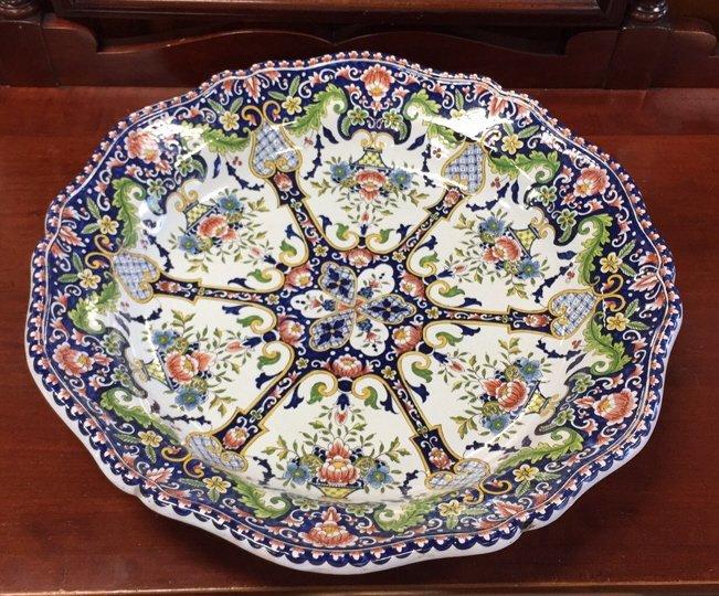 Hand Painted MAJOLICA Bowl - 9