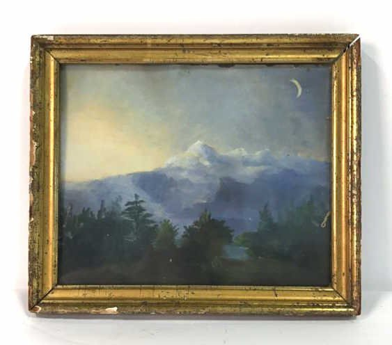 Vermont Painting Signed Illegibly
