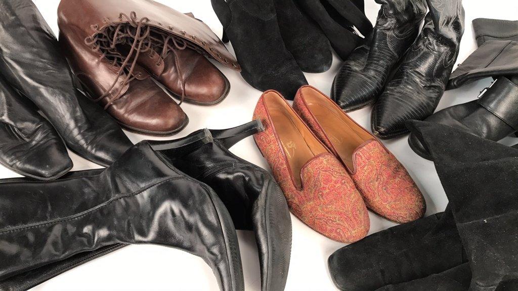 Group Lot Designer Boots & Flats - 2