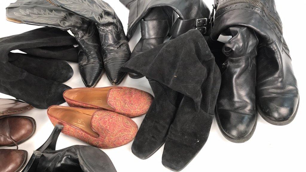 Group Lot Designer Boots & Flats - 3