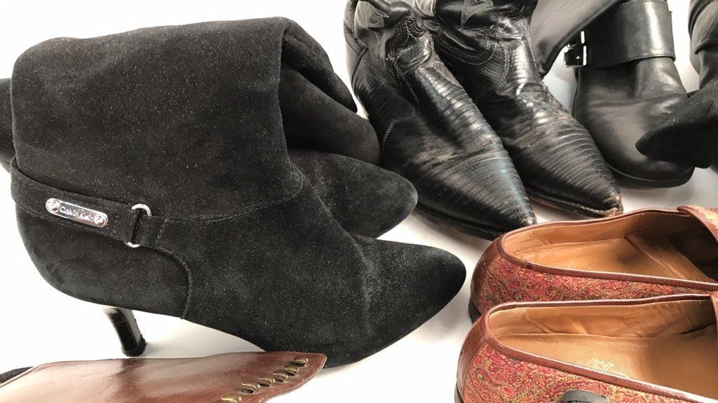 Group Lot Designer Boots & Flats - 4