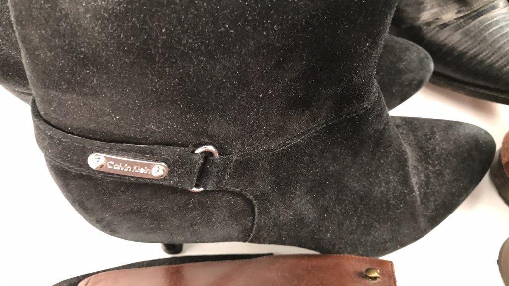 Group Lot Designer Boots & Flats - 5