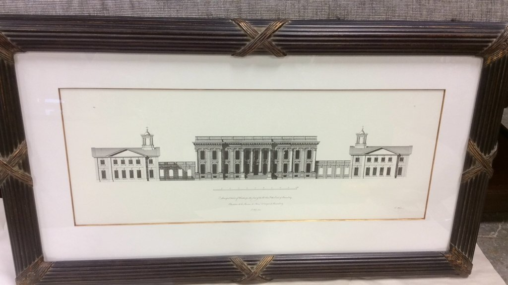Ethan Allen Framed Print of Heathorpe