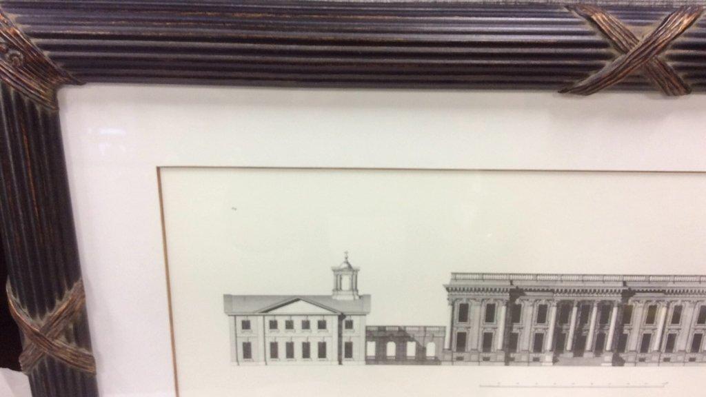 Ethan Allen Framed Print of Heathorpe - 2