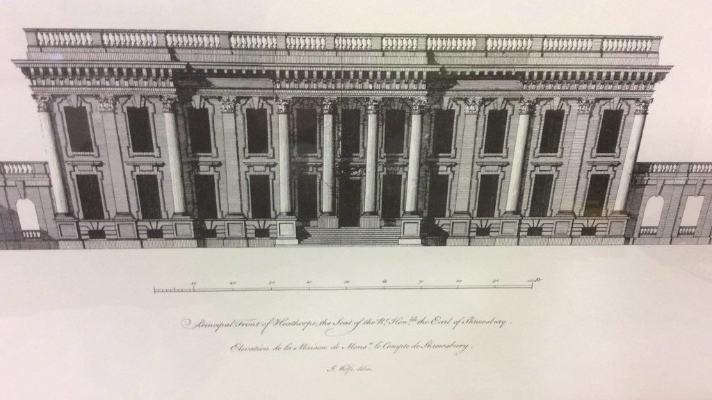 Ethan Allen Framed Print of Heathorpe - 4