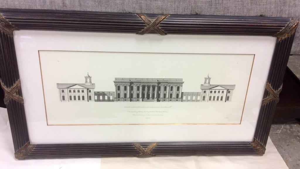 Ethan Allen Framed Print of Heathorpe - 7