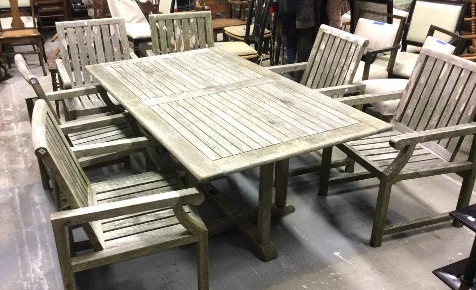 7 Piece Teak Furniture Outdoor Set