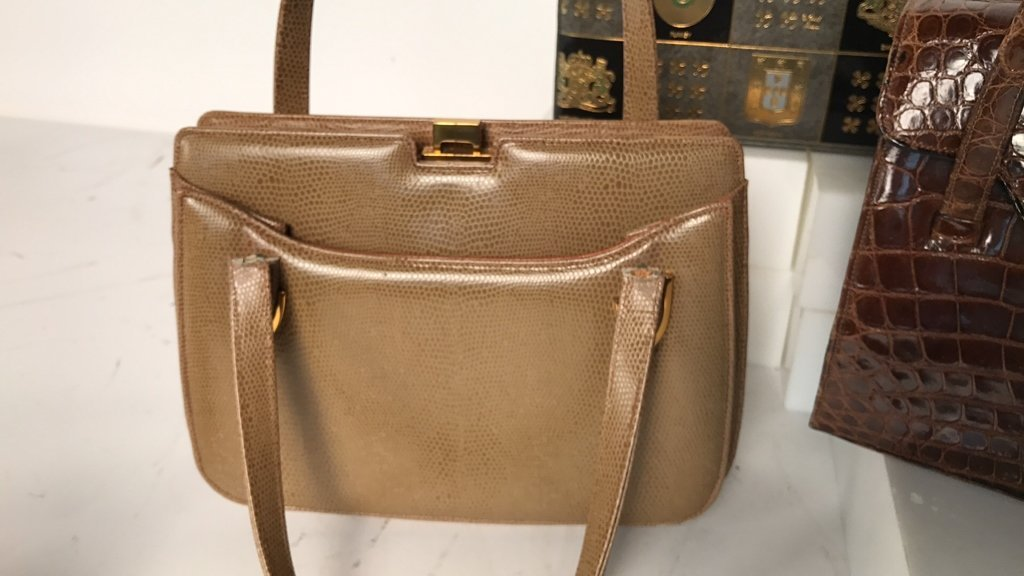 Group Lot Vintage Designer Hand Bags - 4