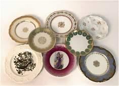 Group Decorative Porcelain Plates