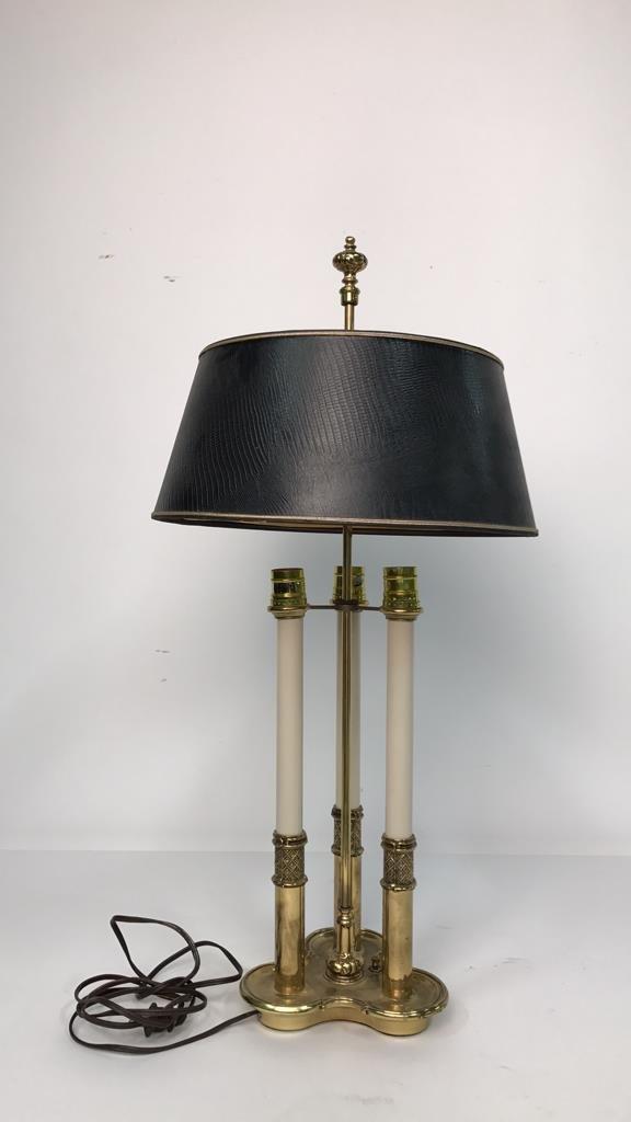 Vintage STIFFEL Brass Desk Lamp