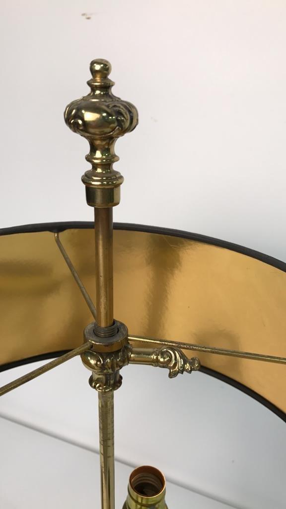 Vintage STIFFEL Brass Desk Lamp - 2