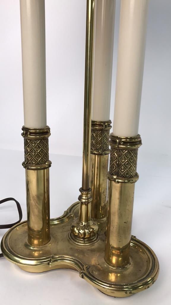 Vintage STIFFEL Brass Desk Lamp - 3