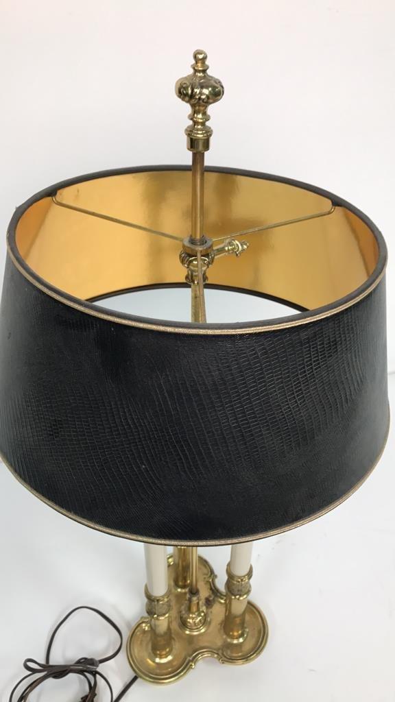 Vintage STIFFEL Brass Desk Lamp - 7