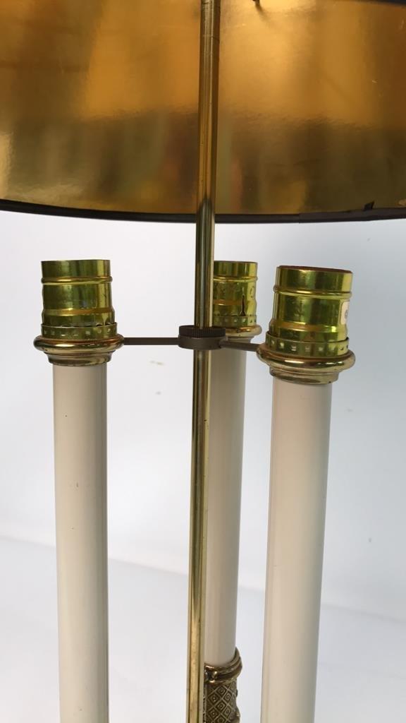 Vintage STIFFEL Brass Desk Lamp - 9