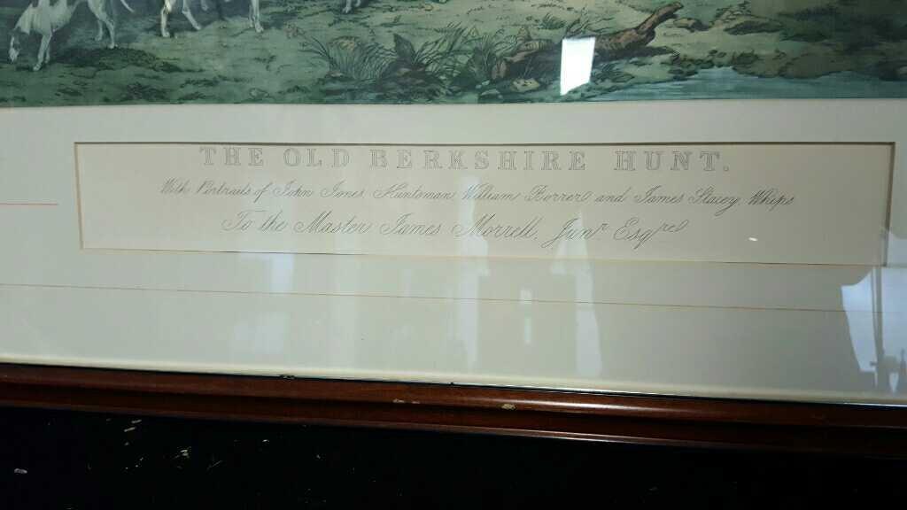 Three Vintage Framed Hunting Prints - 4