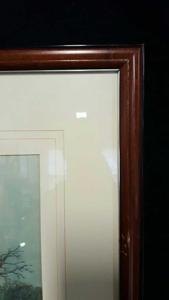 Three Vintage Framed Hunting Prints - 5