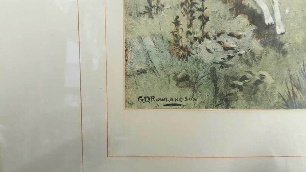 Three Vintage Framed Hunting Prints - 9