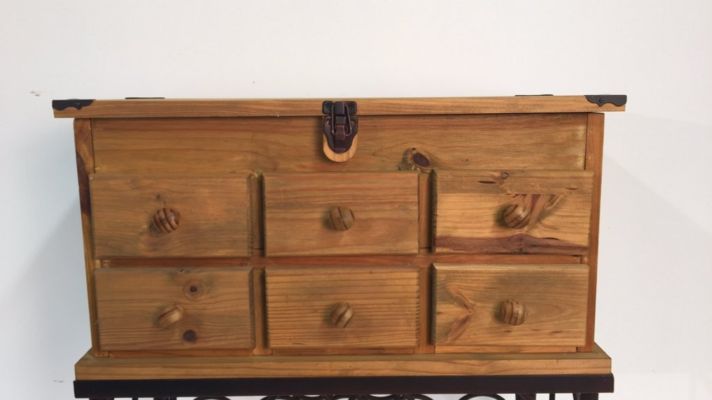 Country Kitchen Style Wine Rack - 2