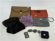 Group Lot Vintage Ladies Hats Bags   Accessories