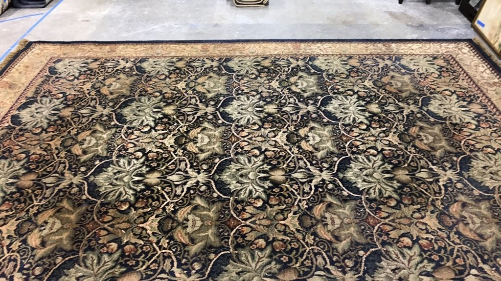 ANTIQUE TREASURES 100% Heat Set Olefin Rug - 3