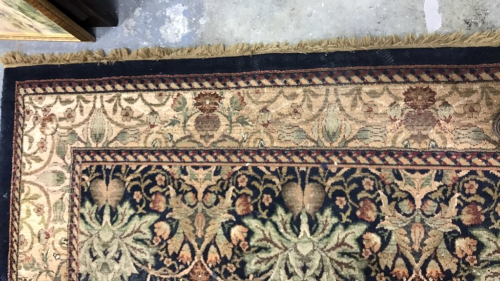 ANTIQUE TREASURES 100% Heat Set Olefin Rug - 6