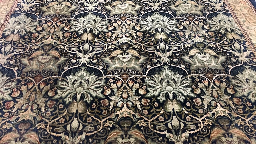 ANTIQUE TREASURES 100% Heat Set Olefin Rug - 7