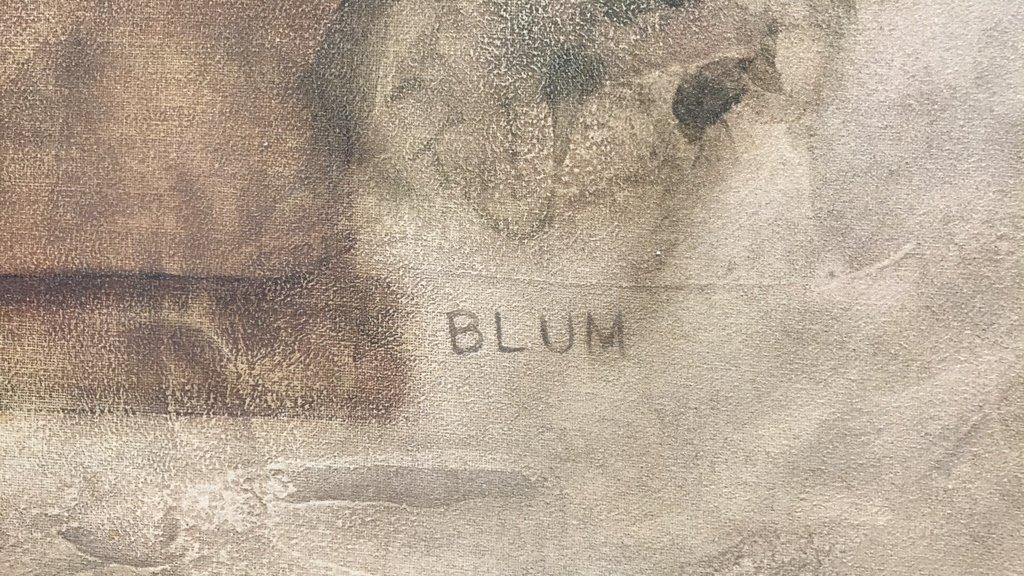 BLUM Signed White Floral Bouquet - 3