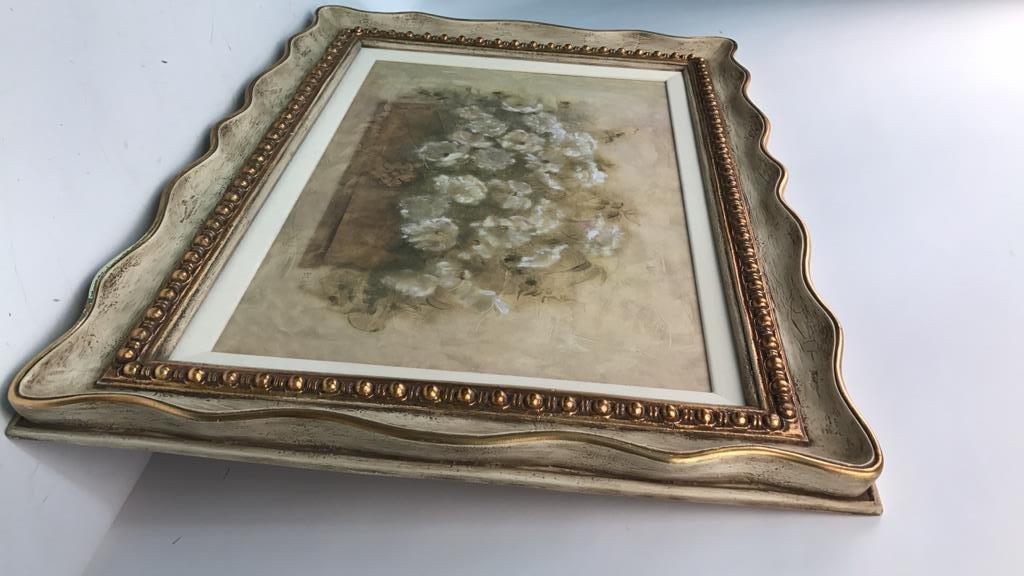BLUM Signed White Floral Bouquet - 7