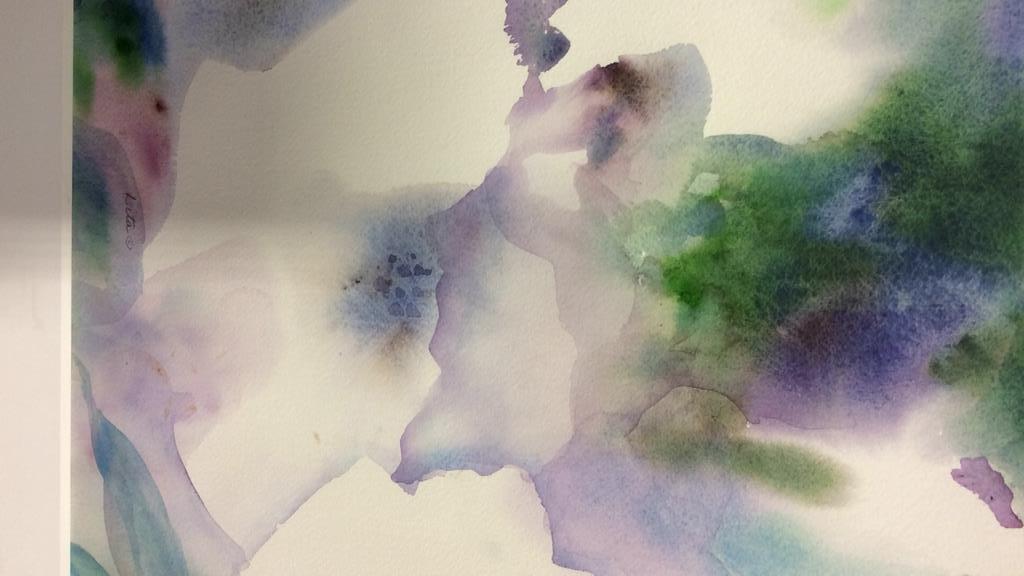 Lita Schwartzberg Floral Watercolor - 4