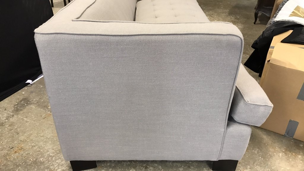 Contemporary Style Tufted Seat Sofa - 7