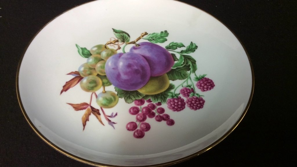 Vintage Porcelain Lot Hand Painted - 2