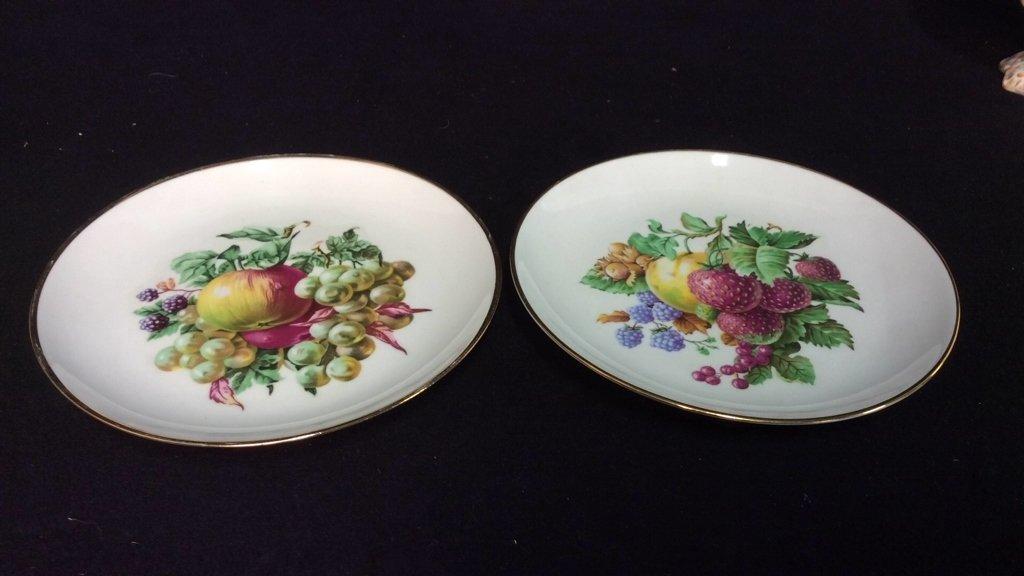 Vintage Porcelain Lot Hand Painted - 5