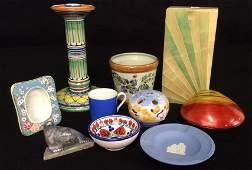 Group Lot Pottery Porcelain Table Articles