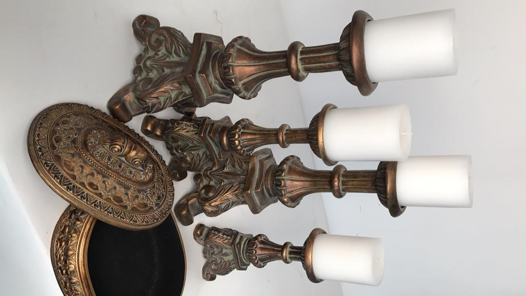 BALLARD DESIGN Victorian Style Candlesticks - 6
