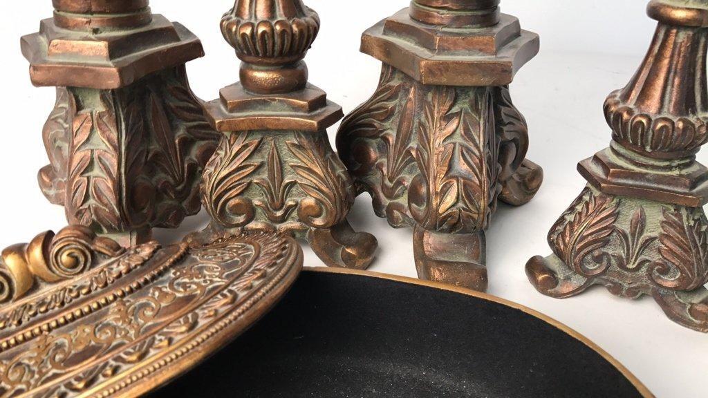 BALLARD DESIGN Victorian Style Candlesticks - 7