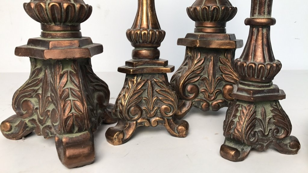 BALLARD DESIGN Victorian Style Candlesticks - 9