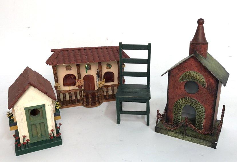 Folk Art Birdhouse Homestead Style Decor