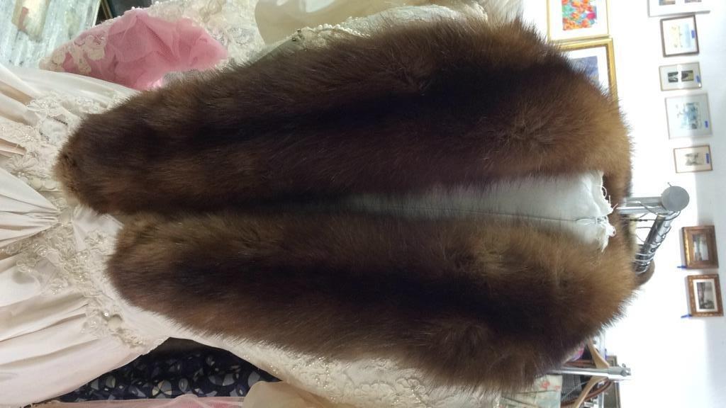 Sable Fur Collar