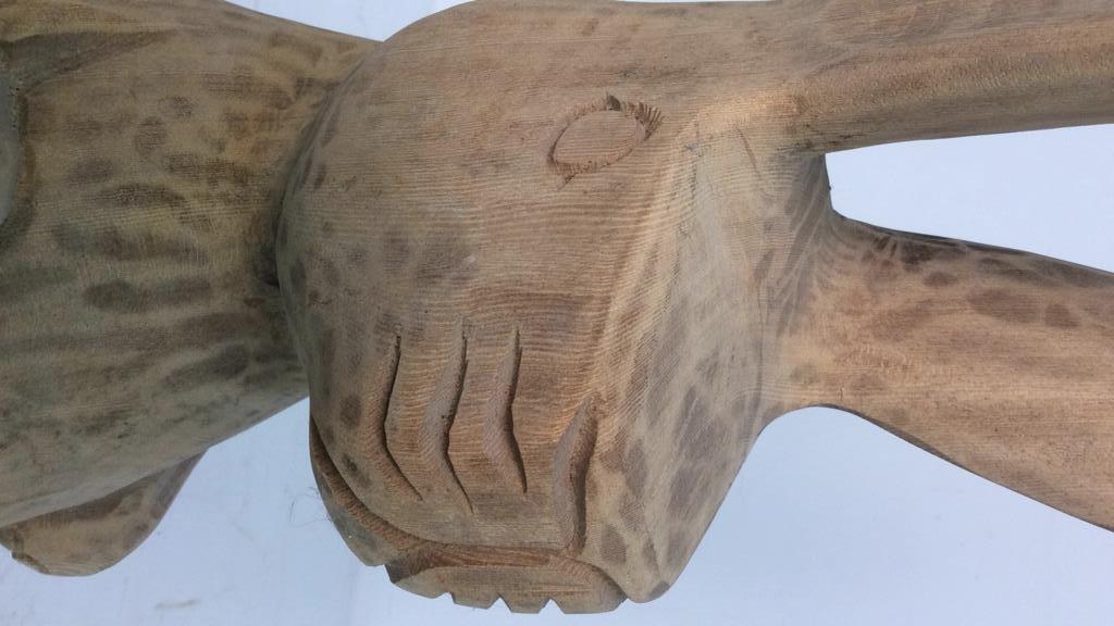 C.B. Carved Folk Art Rabbit - 10