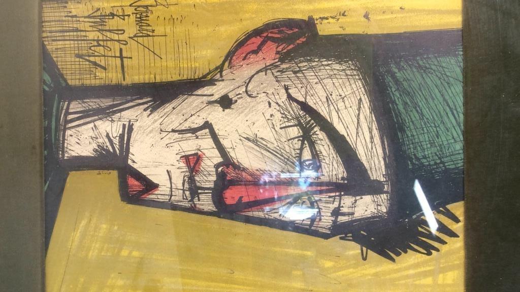 Bernard Buffet Signed Artwork - 2