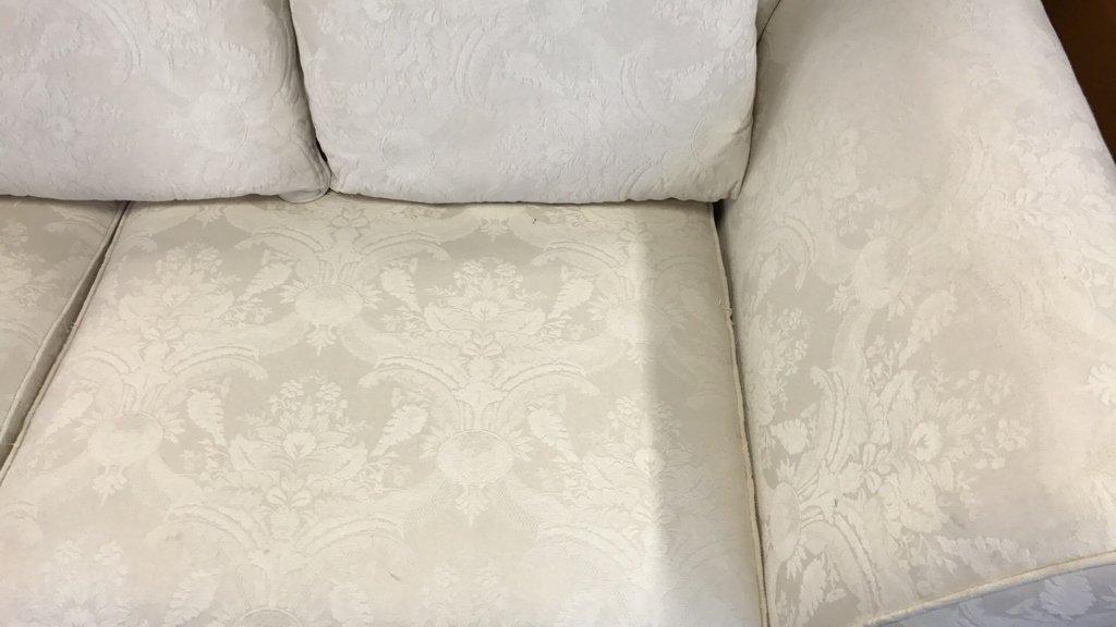 BAUHAUS Upholstered Scroll Arm Sofa Pair Throw - 6