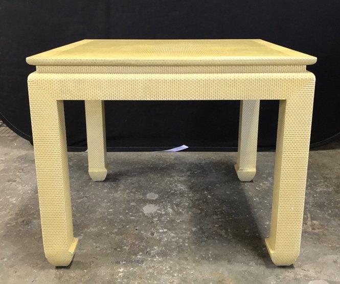 Mid Century Modern Textured Table
