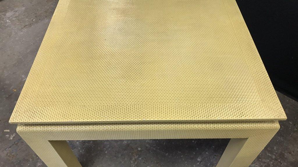 Mid Century Modern Textured Table - 5